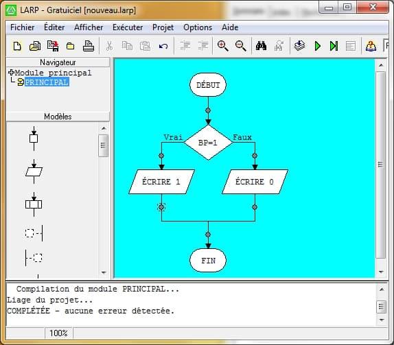 LARP - Logiciel d'Algorithmes et de Résolution de Problèmes
