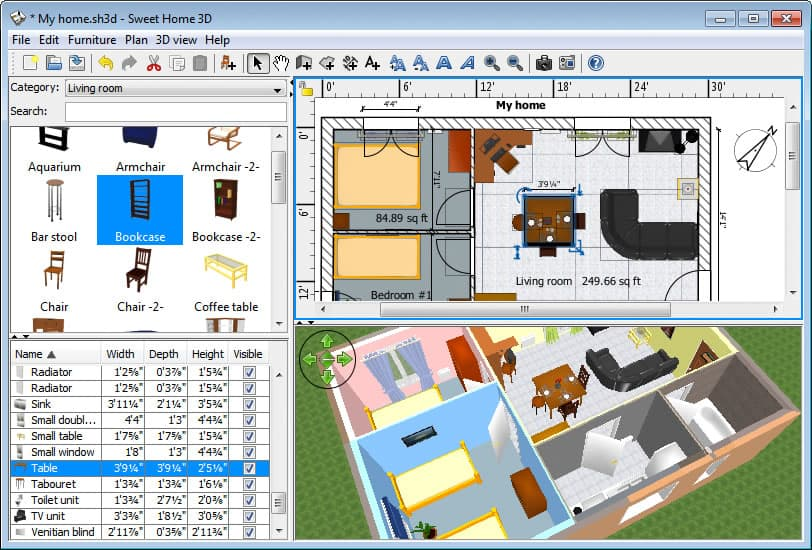 SweetHome3DWindows