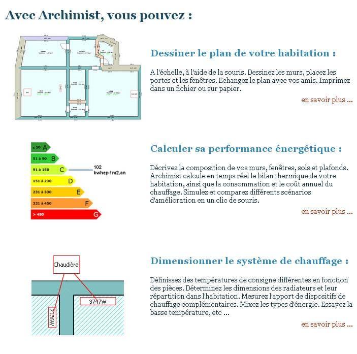 archimist simuler le bilan thermique d 39 une habitation. Black Bedroom Furniture Sets. Home Design Ideas