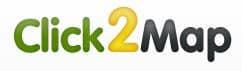 click2map logo