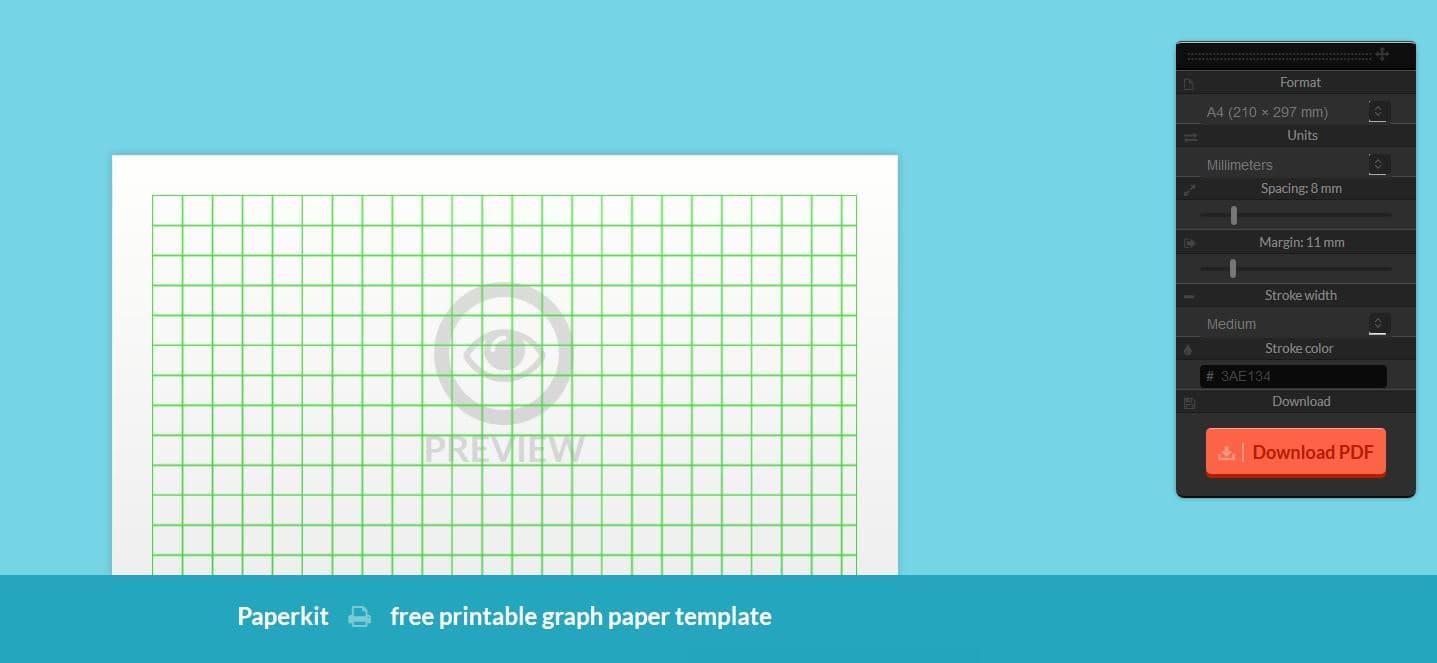 Paperkit Un Générateur De Papier Quadrillé