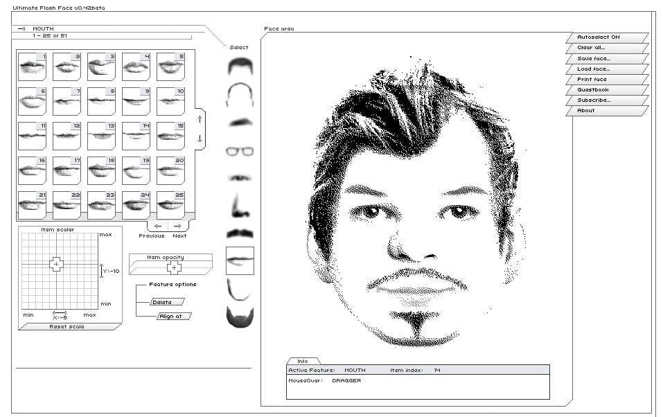 Réalisez facilement des portraits robot