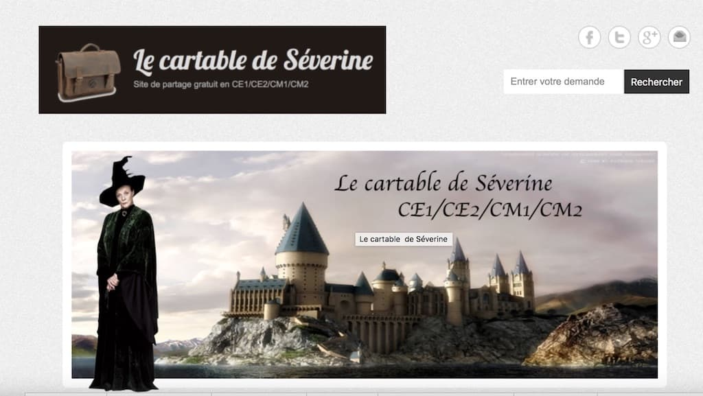 une cartable severine