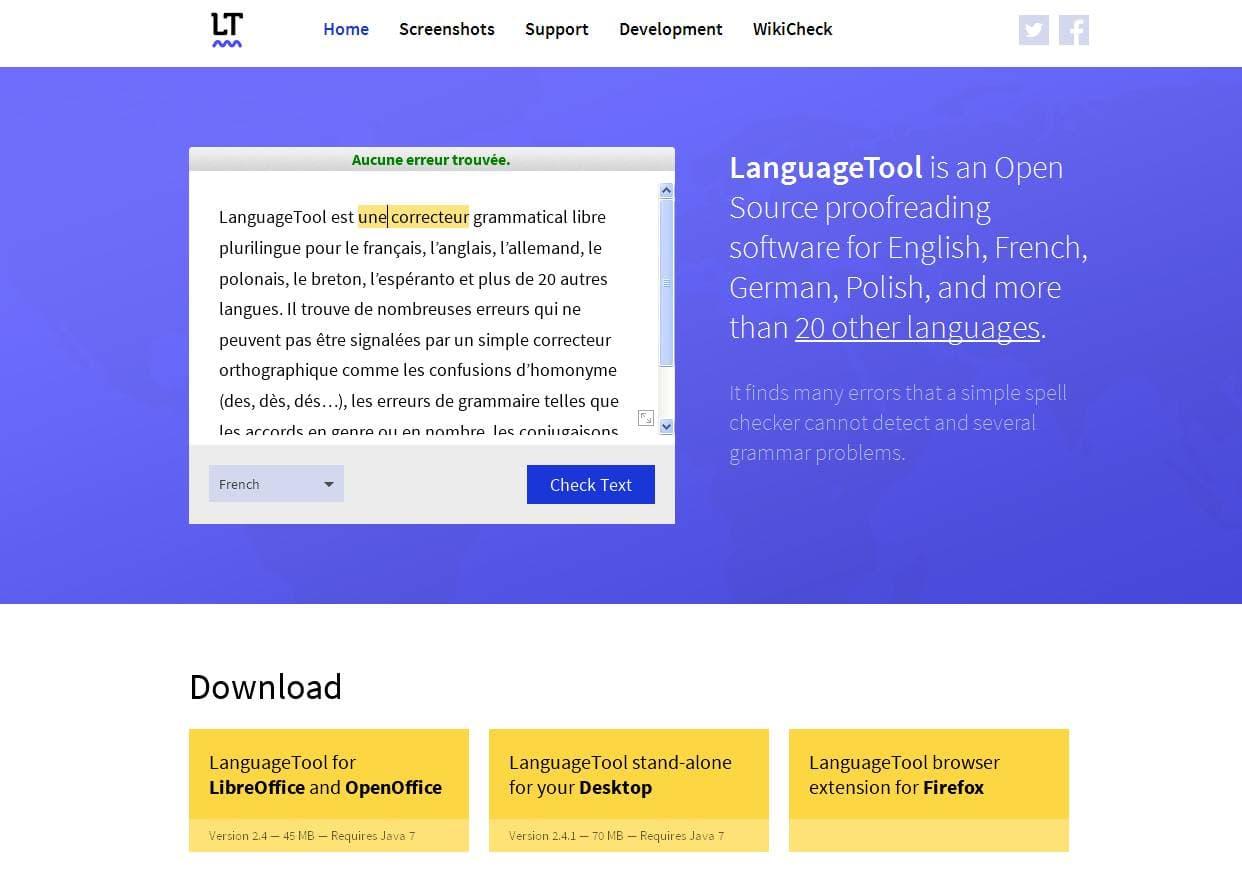 Languagetool un correcteur orthographique open source en - Correcteur orthographique open office ...