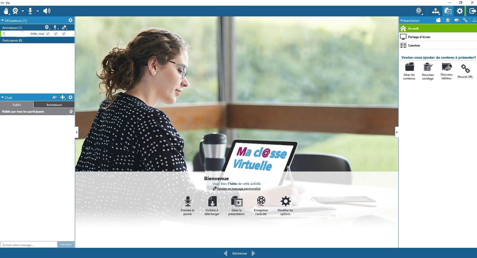 Ma cl@sse virtuelle - Via » : La plateforme de classe virtuelle pour tous  les personnels de l'Education Nationale