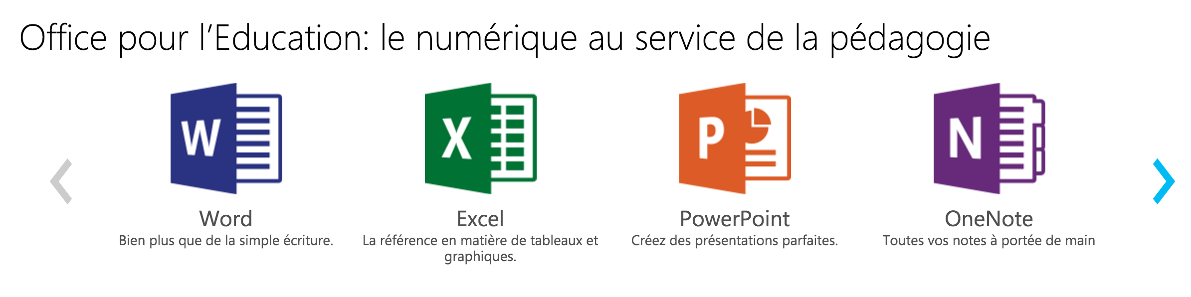 office365 ecran
