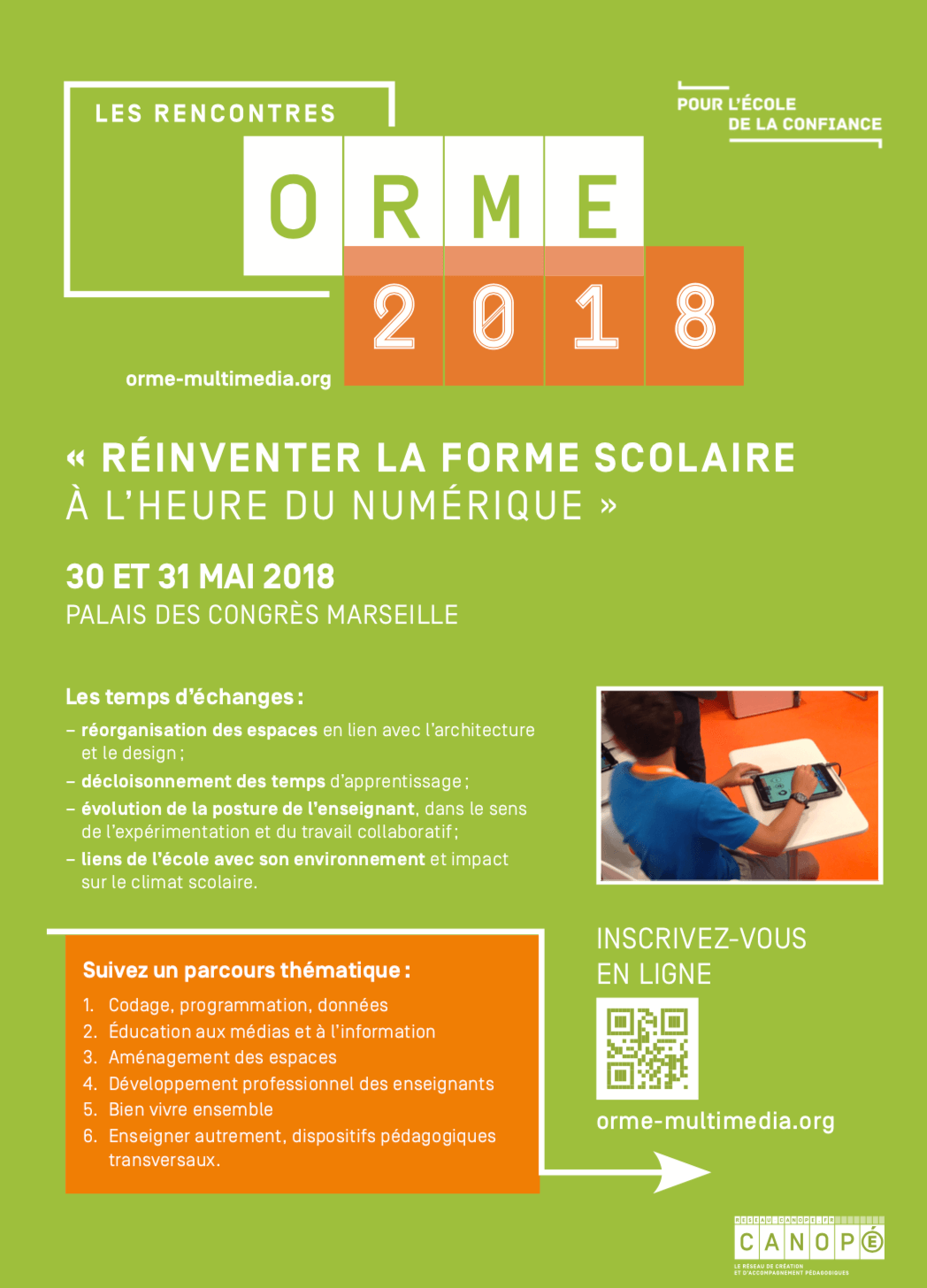 orme2018 affiche