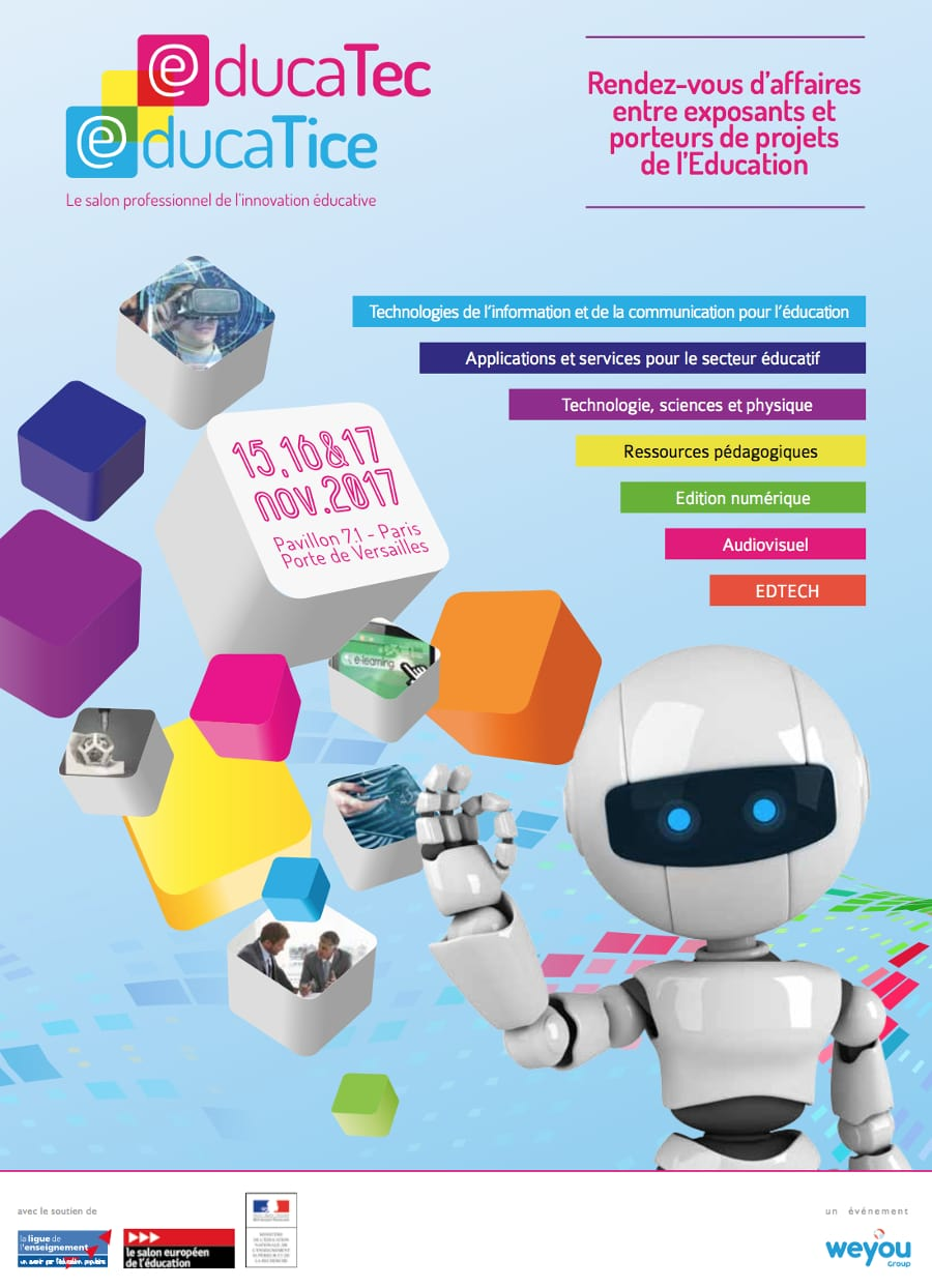 Educatec educatice l innovation hub accueillera le for Salon de l innovation